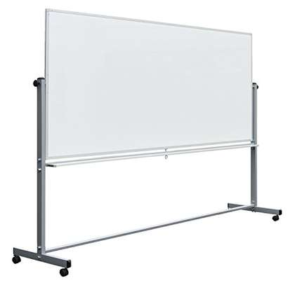 PORTABLE SINGLE SIDED 8*4 WHITEBOARD image 1