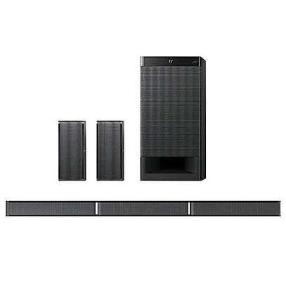 Sony 600W Sound Bar HT-RT3, 5.1CH, Bluetooth technology - Black image 1