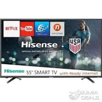 brand new 65 inch hisense smart 4k led tv image 1