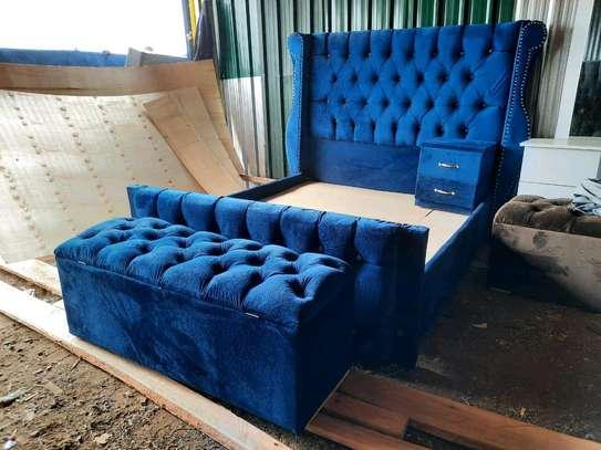 Blue bed image 2
