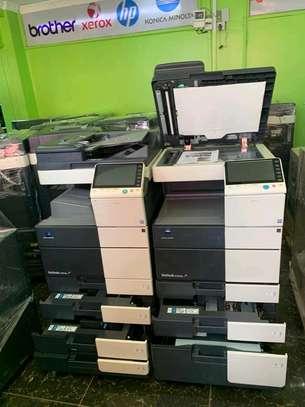 Heavy duty konica minolta c554 photocopier machine image 1