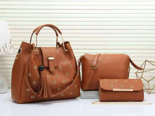 3 in 1 classic beautiful ladies handbags