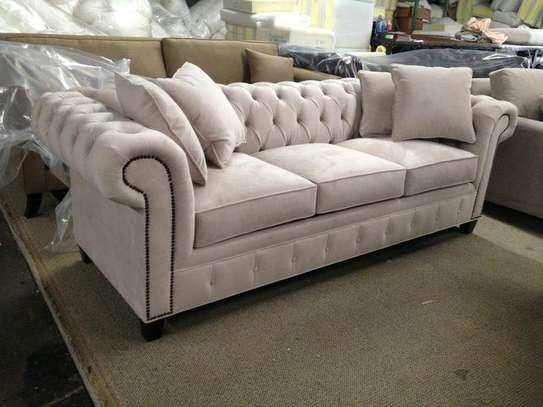 Three seater sofas for sale in Nairobi Kenya/latest chesterfield sofa set designs kenya image 1
