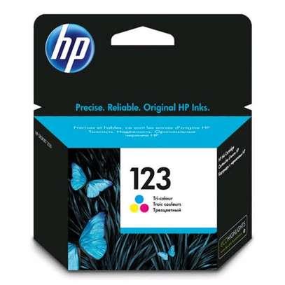 HP 123 inkjet cartridge color image 1
