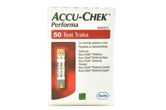 ACCU-CHECK PERFORMA TEST STRIPS image 1