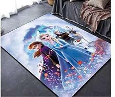 Decorative Frozen 3D Carpets image 1