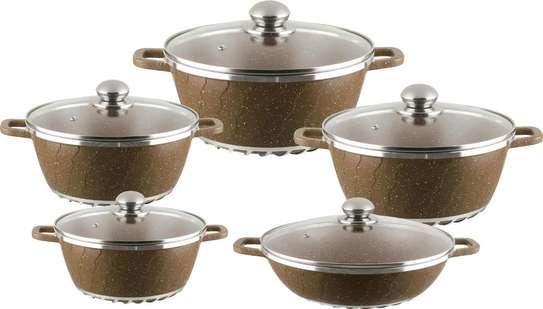Unique granite cooking pot image 3