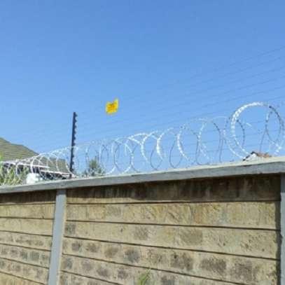 Electric fence installattion in kenya image 1
