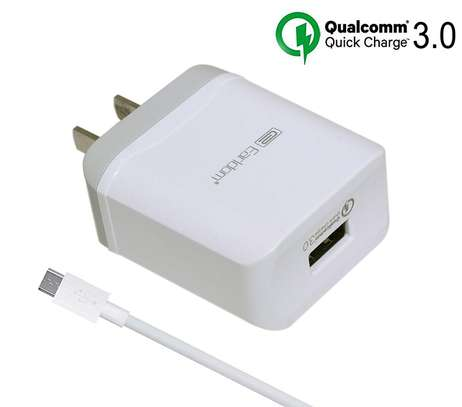 Qualcomm Fast Charge 3.0  Charger for Samsung iPhone HTC Huawei Xiaomi image 4