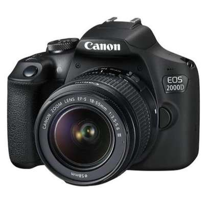 Canon 2000D DSLR Camera - 24.2MP - With 18-55mm Lens