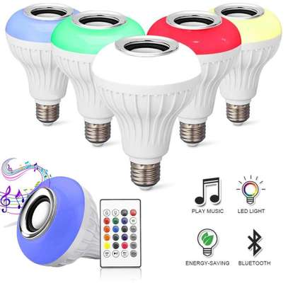 Music bulb with bluetooth music player image 2