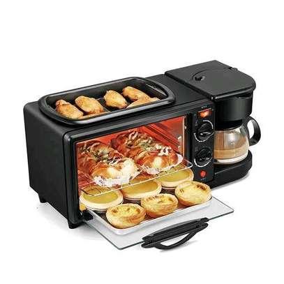 Generic PREMIUM Breakfast Set Toaster Kettle Coffee Maker - 3 In 1 image 1