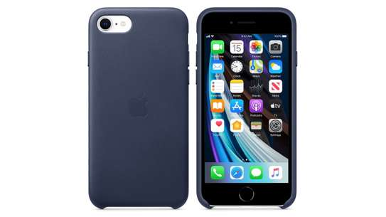 Silicone Cover High Quality  with Soft-Touch Back Protective Case for iPhone SE 2020 image 4