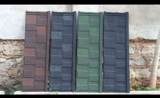 Shingle Sand Coated Roofing Tiles image 1