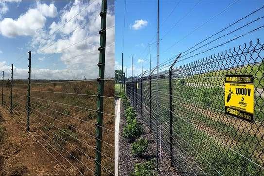 electric fence instalation image 1