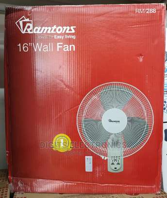 Wall Fan With Remote image 1