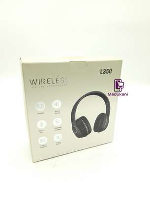 L350 Wireless On-Ear HD Extra BASS Bluetooth Headphones image 8