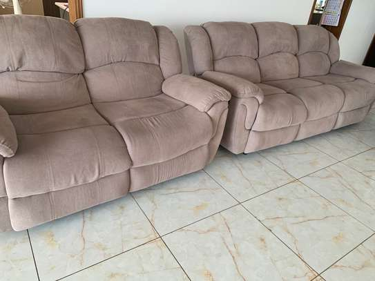 6 seater Reclining Sofa Set