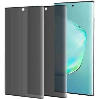 UV Privacy Anti-Spy Anti-Peep NANO Liquid Full Glue Tempered Glass For Samsung Note 20/Note 20 Ultra image 6