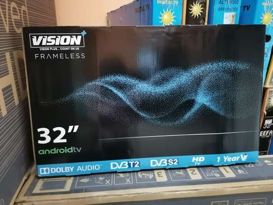 Brand new 32 inch vision smart android led TV