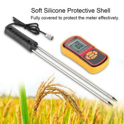 GM640 Portable Digital Backlit Grain Moisture Meter for Multiple Grains image 2