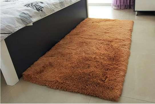 BED SIDE FLUFFY CARPET image 5