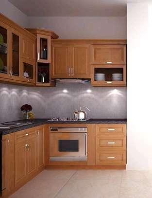 Inbuilt kitchen cabinets image 1