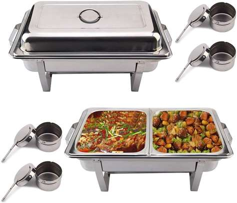 double compartment chafing dish