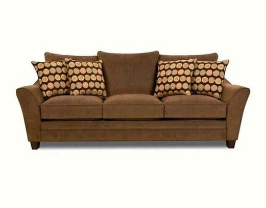 Stylish Modern Quality Flared Arm 3 Seater Sofa