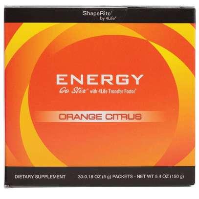 Energy Go Stix® Orange Citrus image 1