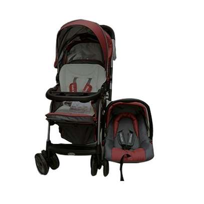 Cool 2 in 1 baby stollers/ prams- red image 1