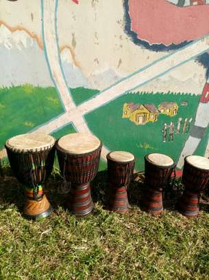 African drumset