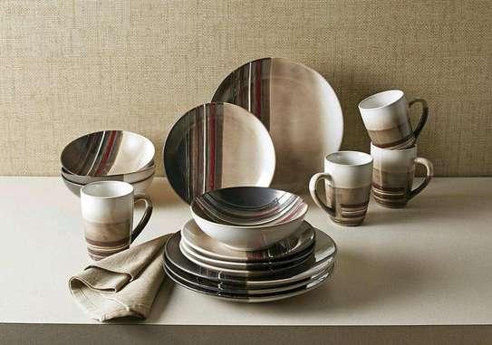 24 ceramic dinner set image 6