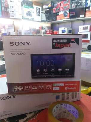 Sony XAV-AX5000, 7 Touch Screen With Bluetooth & USB image 1