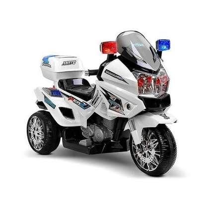MEDIUM size Electric Bike - Kid's Motorcycle- White( Assembled) image 1