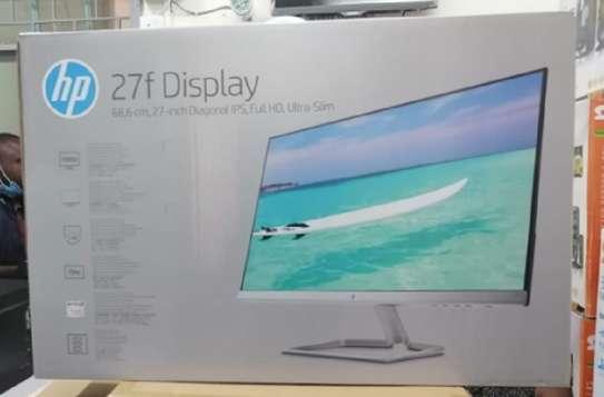 "New HP 27f Display 27"" Full HD IPS Ultra-Slim Backlit LED Micro-Edge image 1"