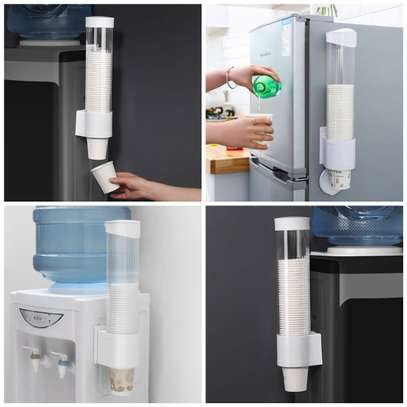 Fridge and water dispenser Cup holder image 1
