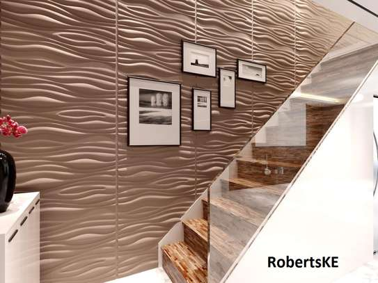indoors/outdoor decor 3D wall panels image 2