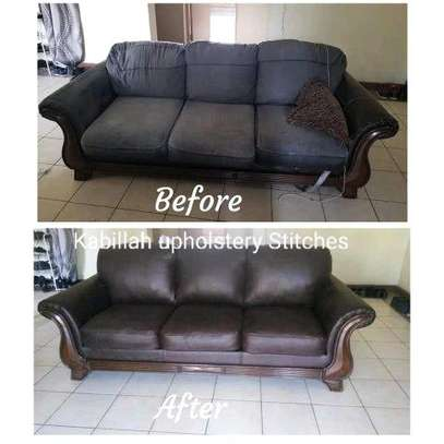 Re-Upholsterering old imported seats at affordable rates image 2