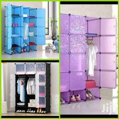 different colours plastic wardrobes image 1