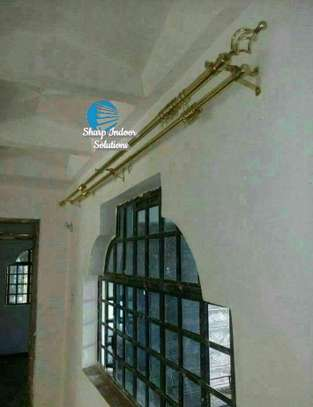 Extensible curtain rods image 5
