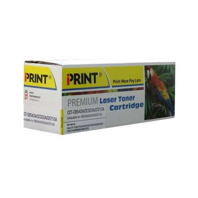 125A yellow cartridge CB542A printer number HP Color LaserJet CP1515n/CP1518ni and HP Color LaserJet CP1215 and HP LaserJet P1505 Printer series; and HP Color LaserJet CM 1312MFP and HP LaserJet M1522MFP and HP LaserJet M1120MFP. image 2