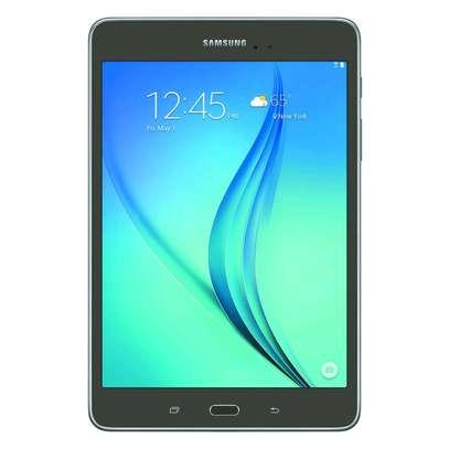 Samsung Galaxy Tab A SM-T350 8-Inch Tablet (16 GB, Titanium) W/ Pouch image 1