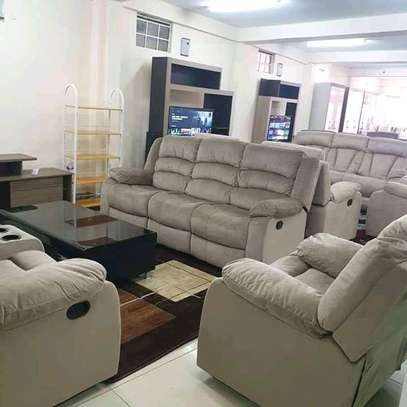 Locally assembled Recliner sofas image 3