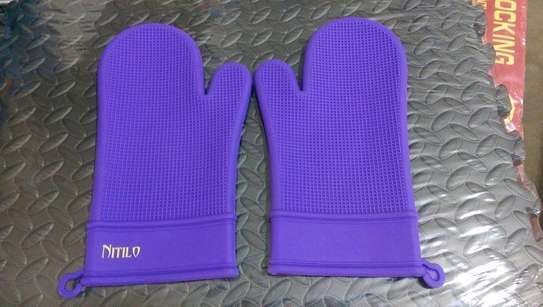 Cotton oven gloves image 2