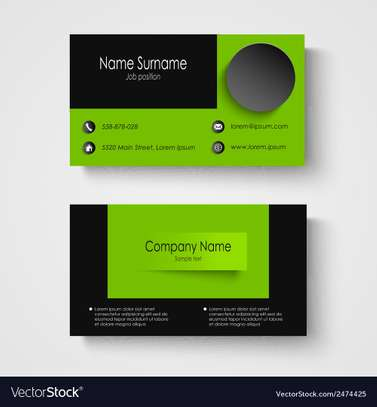 High quality business cards printing image 2