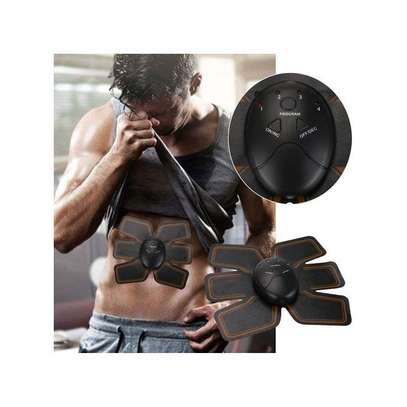 SHARE THIS PRODUCT   Generic Magic EMS Muscle Training Gear ABS Trainer Fit Body Home Exercise Shape Fitness image 1
