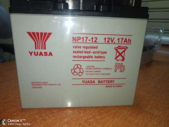 yuasa battery in kenya 12v 17 AH IN KENYA image 3