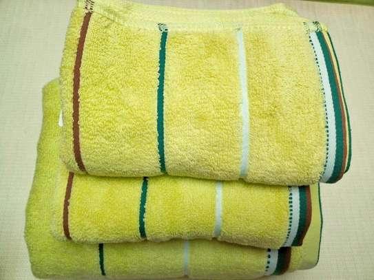 3 PIECE COTTON TOWELS image 3