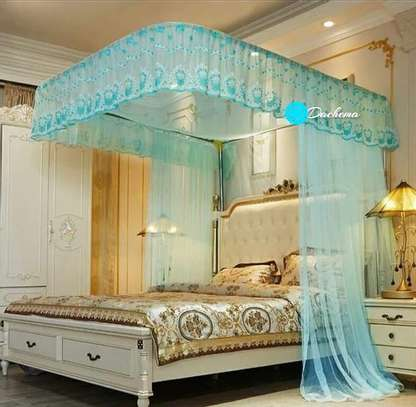 blue two stand mosquito net image 1